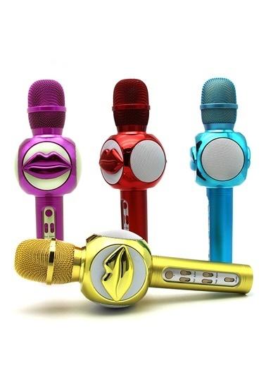 Doppler Lips200 Ses değişim Özelliki Çocuk Mikrofonu Pembe